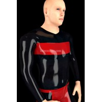 Latex T-shirt with long sleeves - MORCO