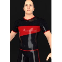Latex T-shirt with short sleeves - ERUMAXO