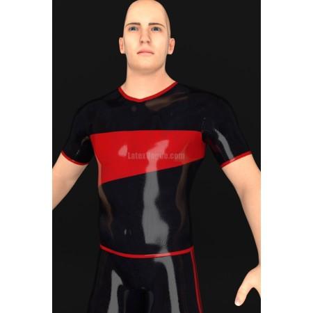 Latexové tričko s krátkým rukávem - ERUMAXO