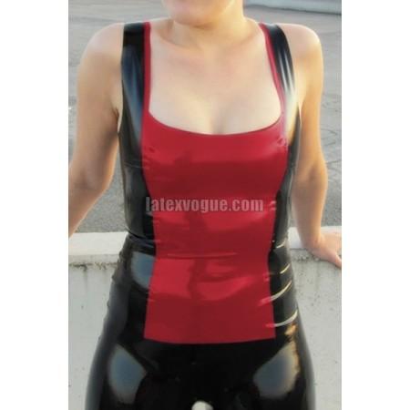 Slimming latex undershirt