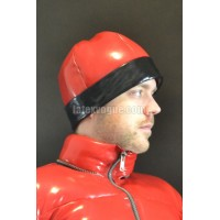 Winter warm latex cap