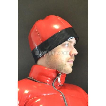 Winter warm latex cap